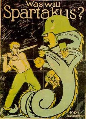 Affiche du Spartakusbund