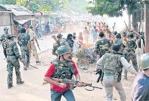 Intervention policière au Lalgarh