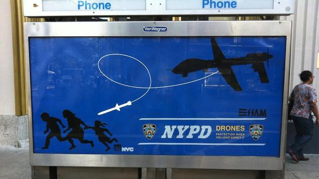 Type: street art (style: affiche détournement publicitaire)