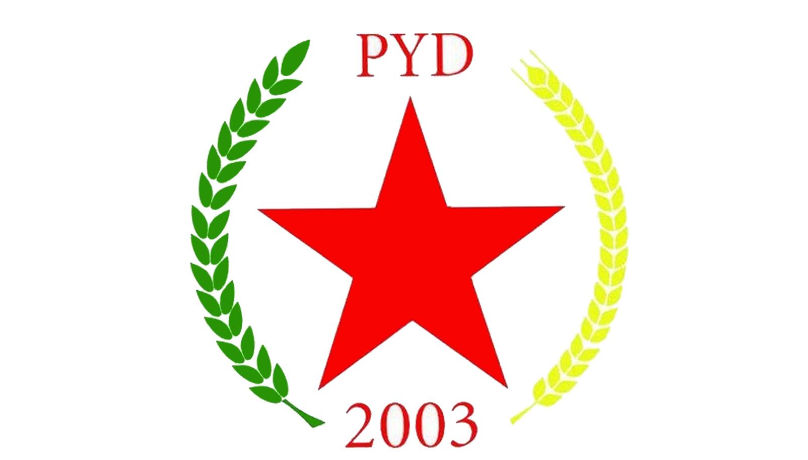 Drapeau du PYD.