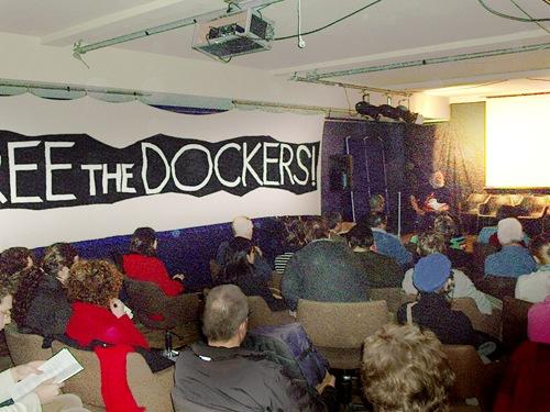 Soirée de solidarité avec les dockers