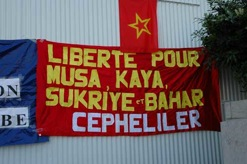Manifestation pour le DHKP-C