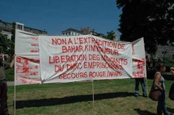 Manifestation contre les prisons turques