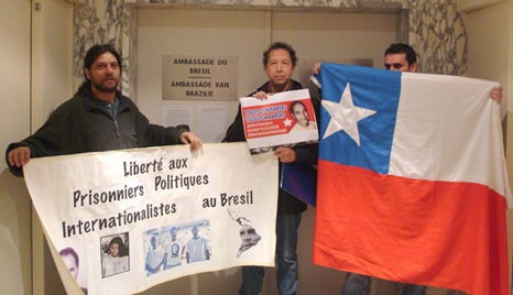 Pour les prisonniers chiliens