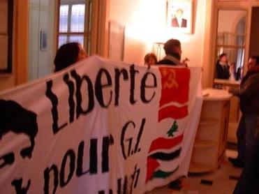 Occupation du consulat libanais