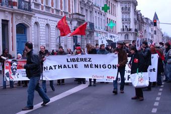 Manif à Lille pour Action Directe