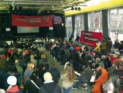 Audience du congrès de Berlin