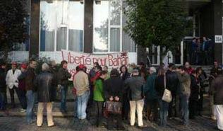 Rassemblement au procès DHKP-C à Anvers