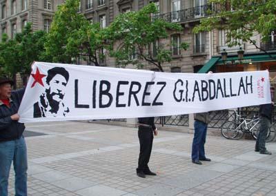 Manifestation pour GI Abdallah