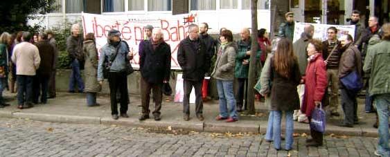 Manif au procès DHKP-C à Anvers