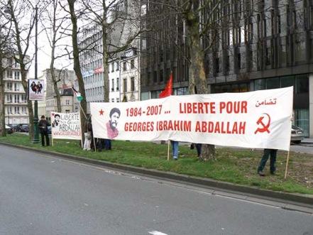 Rassemblement pour Georges Ibrahim Abdallah