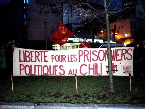Calicot SR pour les prisonniers chiliens