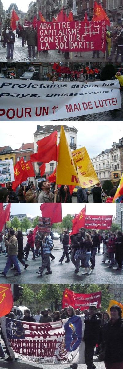 Manifestation du 1er mai 2008