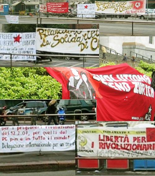Manifestation pour le SR à Milan