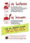 Carte postale pour les inculpés du 5 juin en néerlandais