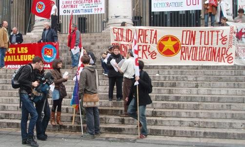 Manif de la gauche italienne