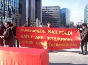 Rassemblement contre la torture en Turquie