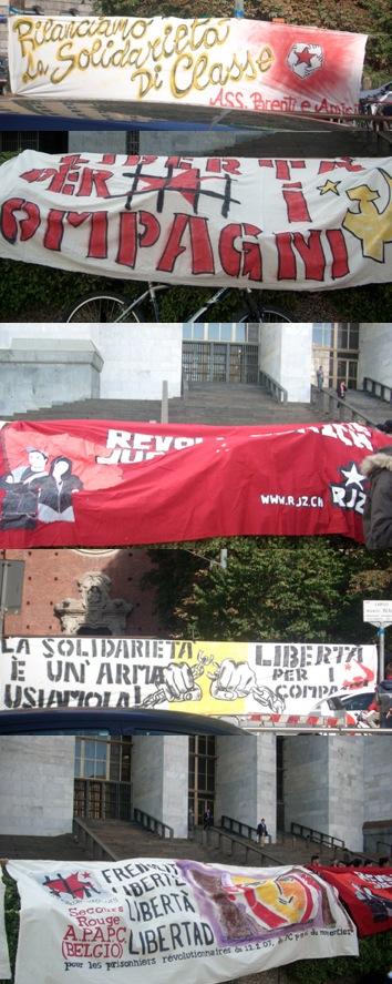 Les calicots à Milan