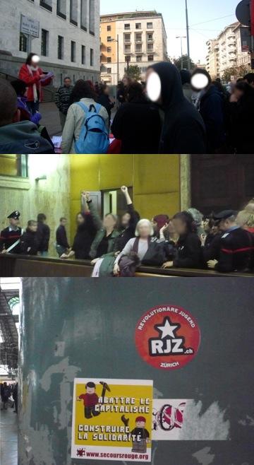 Au procès à Milan