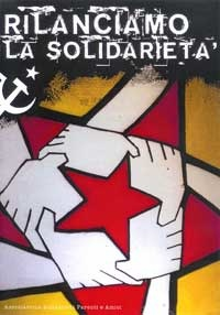 Affiche de solidarité avec les prisonniers italiens