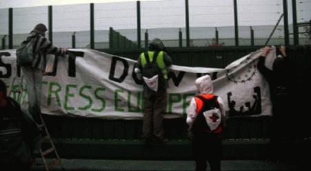 Blocage du centre fermé de Vottem