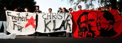 Manif pour Christian Klar