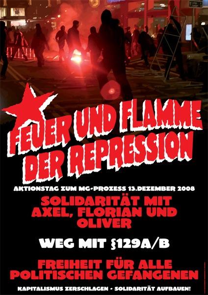 Affiche pour le Militante Gruppe