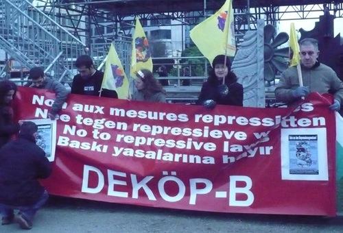 Manifestation contre les lois anti-terreur en Turquie