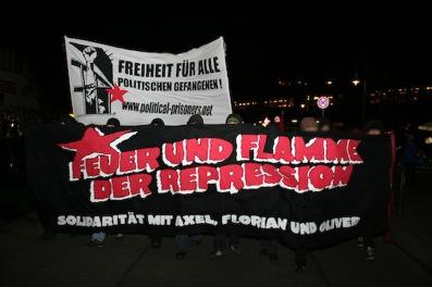 Manif pour le MG à Kreuzberg
