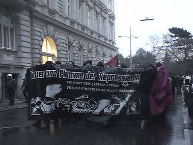 Manifestation pour le MG