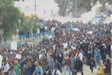 Manifestation de Gafsa