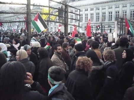 Manifestation pour Gaza