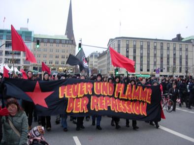 Manif pour le MG à Hambourg