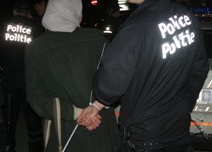 Répression policière à la manif anti-sioniste
