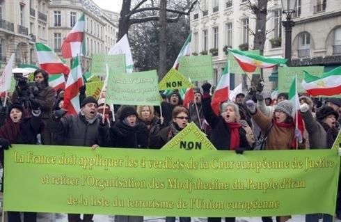 Manifestation pour l'OMPI
