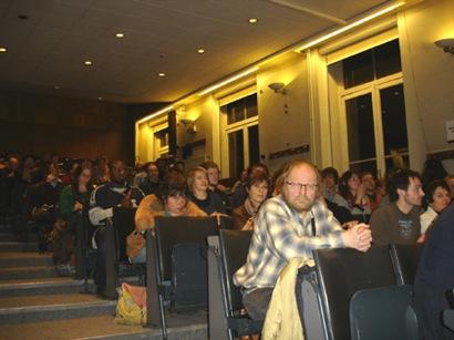 Audience de la conférence