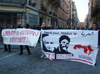 Manifestation anti-terroriste