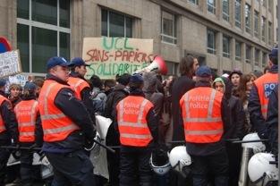 Manifestation de sans-papiers