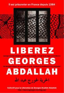 Affiche de soutien à Georges Ibrahim Abdallah