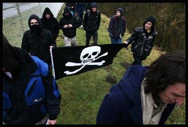 Manifestation pour Olivier du Lappersfort