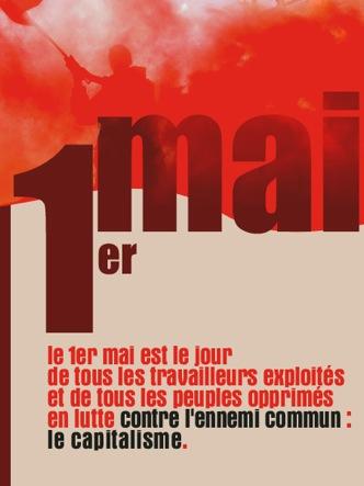 Affiche pour le 1er mai 2009