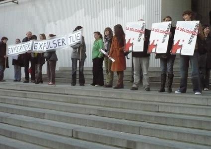 Manifestation pour Caner Altintas