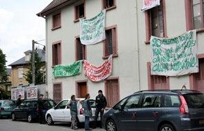 Squat à Chambéry