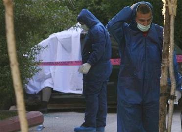 Meurtre d'un policier à Athènes