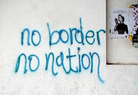 'No Border No Nation'