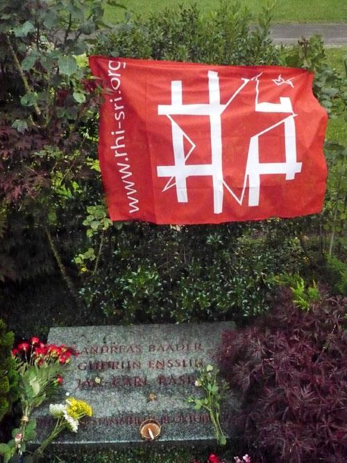 Sur la tombes de ceux de la RAF