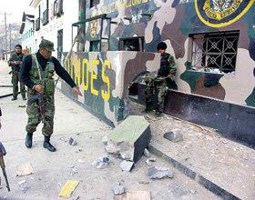 Attaque de la guérilla au Pérou