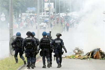Manifestation en Nouvelle-Calédonie