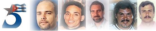 Photo des 5 Cubains