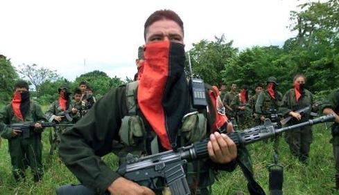Guérilleros colombiens